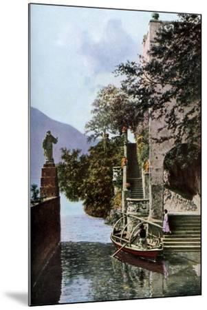 Villa Del Balbianello, Lenno, Lake Como, Italy, C1930S-Donald Mcleish-Mounted Giclee Print