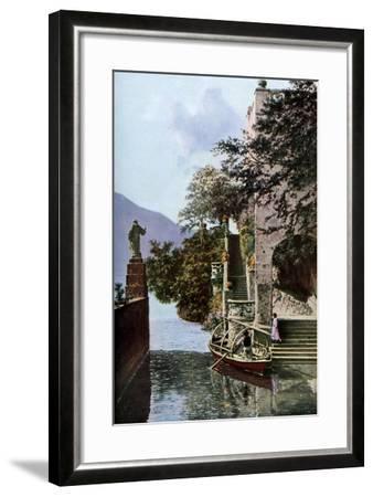 Villa Del Balbianello, Lenno, Lake Como, Italy, C1930S-Donald Mcleish-Framed Giclee Print