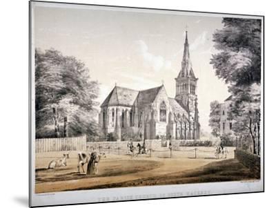 The Church of St John of Jerusalem, Hackney, London, C1850-CJ Greenwood-Mounted Giclee Print