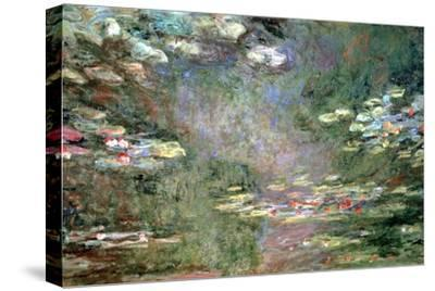 Water Lilies, C1925-Claude Monet-Stretched Canvas Print