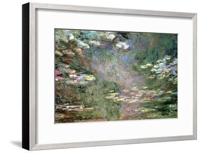 Water Lilies, C1925-Claude Monet-Framed Giclee Print