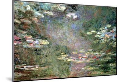 Water Lilies, C1925-Claude Monet-Mounted Giclee Print