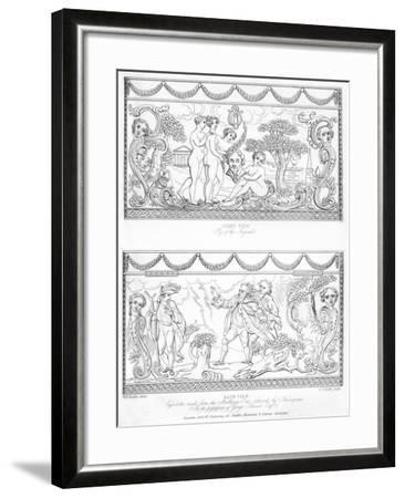Carved Cassolette Made from the Wood of Shakespeare's Mulberry Tree, C18th Century-CJ Smith-Framed Giclee Print