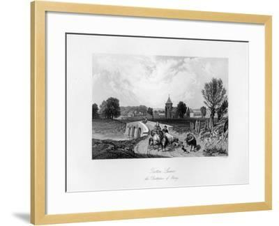 Trotton, Syssex, the Birth Place of Otway, 1840-CJ Smith-Framed Giclee Print