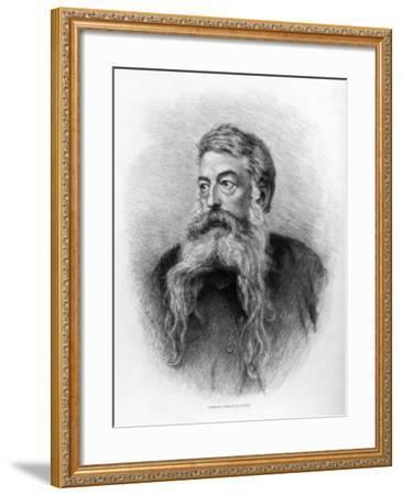 Jean Louis Ernest Meissonier, French Artist, C1880-1882-CL Courtry-Framed Giclee Print