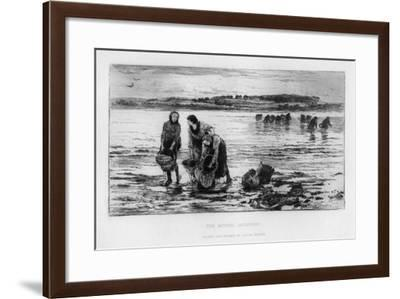 The Mussel Gatherers, C1890-Colin Hunter-Framed Giclee Print