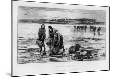 The Mussel Gatherers, C1890-Colin Hunter-Mounted Giclee Print