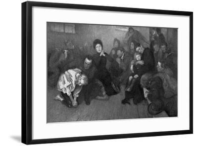 A Salvation Army Shelter, 1898-E Borough Johnson-Framed Giclee Print