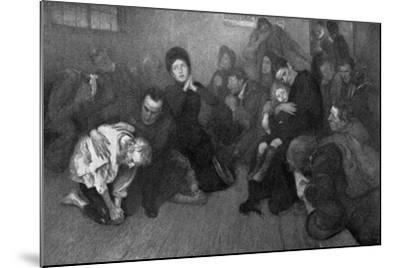 A Salvation Army Shelter, 1898-E Borough Johnson-Mounted Giclee Print