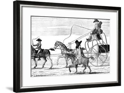 The New Gig, 1781- Colley-Framed Giclee Print