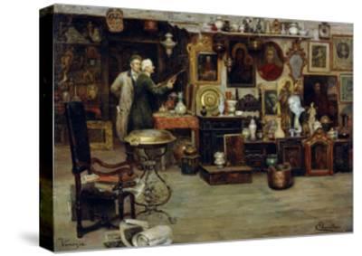 The Curiosity Shop, 19th Century-Eduardo Vianella-Stretched Canvas Print