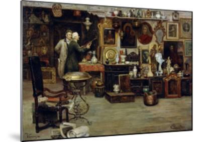 The Curiosity Shop, 19th Century-Eduardo Vianella-Mounted Giclee Print
