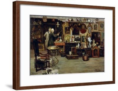 The Curiosity Shop, 19th Century-Eduardo Vianella-Framed Giclee Print