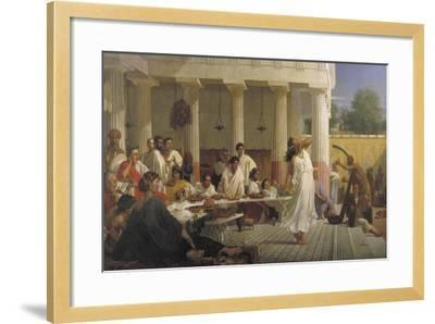 Herod's Birthday Feast, 1868-Edward Armitage-Framed Giclee Print