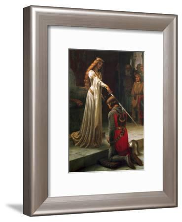 The Accolade, 1901-Edmund Blair Leighton-Framed Giclee Print