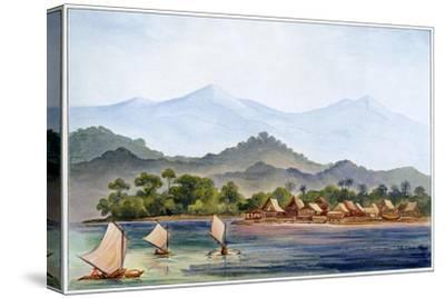Village, Sumatra, Indonesia, 1906-Ernst Heinrich Philipp August Haeckel-Stretched Canvas Print
