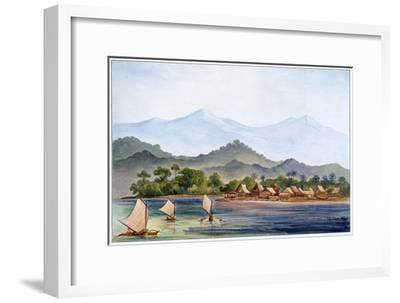 Village, Sumatra, Indonesia, 1906-Ernst Heinrich Philipp August Haeckel-Framed Giclee Print