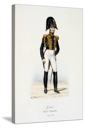Génie, Chef De Bataillon, 1814-30-Eugene Titeux-Stretched Canvas Print