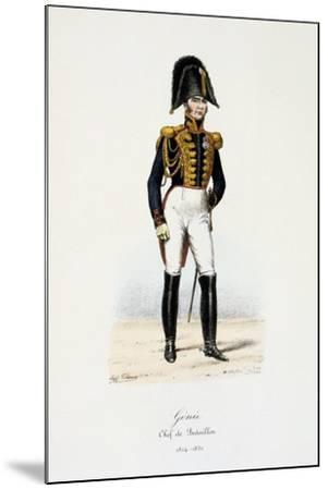 Génie, Chef De Bataillon, 1814-30-Eugene Titeux-Mounted Giclee Print