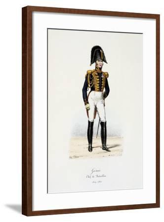 Génie, Chef De Bataillon, 1814-30-Eugene Titeux-Framed Giclee Print