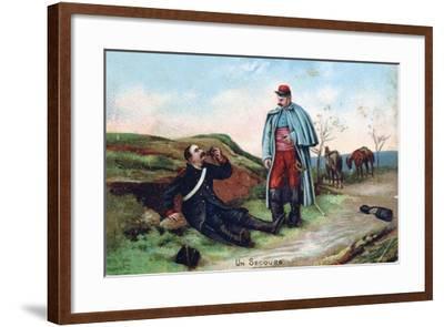 First Aid, 1914-1918-Etienne Berne-Bellecour-Framed Giclee Print