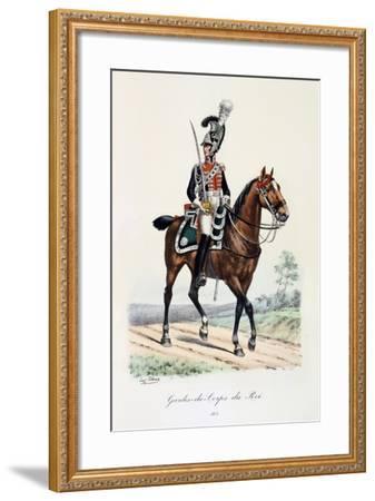 Gardes-Du-Corps De Roi, 1815-Eugene Titeux-Framed Giclee Print