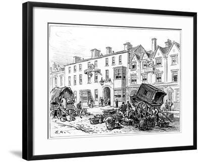The Red House Hotel, Stratford-Upon-Avon, Warwickshire, 1885-Edward Hull-Framed Giclee Print