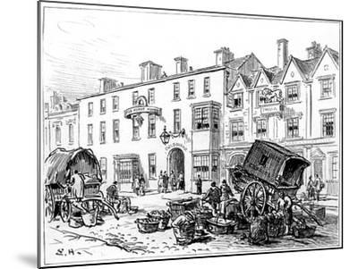 The Red House Hotel, Stratford-Upon-Avon, Warwickshire, 1885-Edward Hull-Mounted Giclee Print