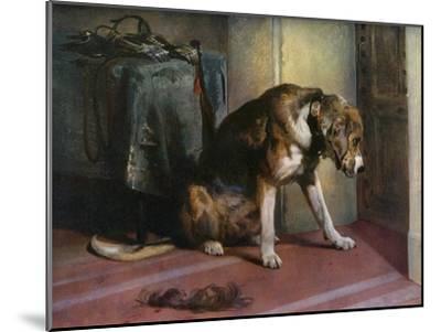 Suspense, 19th Century-Edwin Henry Landseer-Mounted Giclee Print
