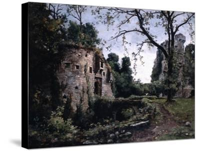 The Bastion of the Elms, 1884-Emmanuel Lansyer-Stretched Canvas Print