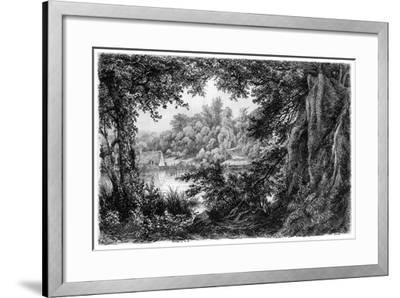 La Chaumiere, C1825-1885-Eugene Blery-Framed Giclee Print