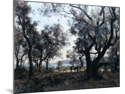 Olive Trees around Cap Martin, 1891-Emmanuel Lansyer-Mounted Giclee Print