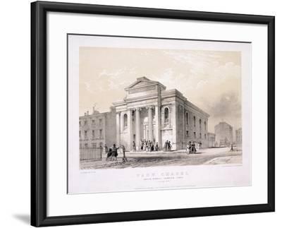 Park Chapel, Camden Town, London, C1850-Edwin Thomas Dolby-Framed Giclee Print