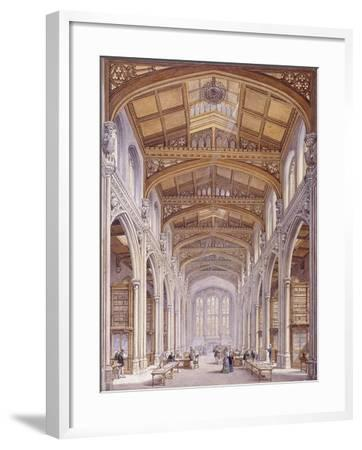 Guildhall Library, London, 1872-Edwin Thomas Dolby-Framed Giclee Print