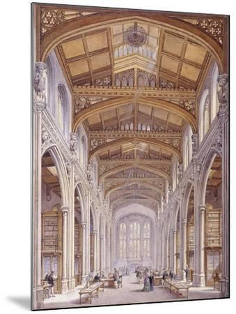 Guildhall Library, London, 1872-Edwin Thomas Dolby-Mounted Giclee Print