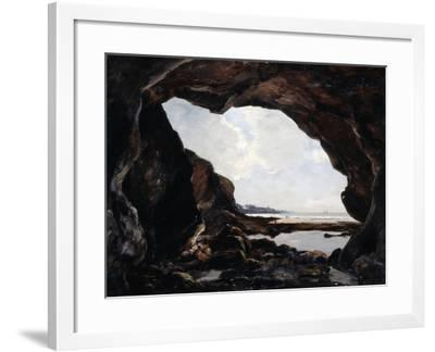 Grotto of Ris, Douarnenez, 1876-Emmanuel Lansyer-Framed Giclee Print
