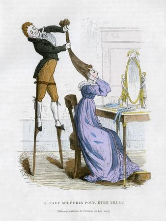 It Is Necessary to Suffer to Be Beautiful, 1882-1884-EA Tilly-Framed Giclee Print