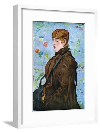 Autumn (Mery Lauren), 1882-Edouard Manet-Framed Giclee Print