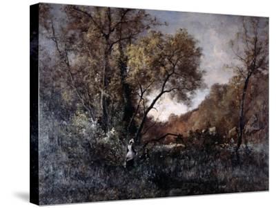 Flowers in April, 1877-Emmanuel Lansyer-Stretched Canvas Print