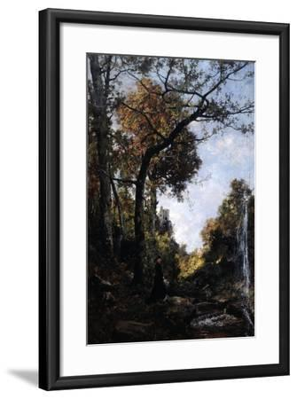 The Autumn Walk, 1869-Emmanuel Lansyer-Framed Giclee Print