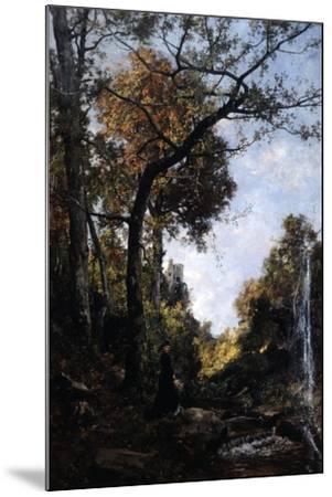 The Autumn Walk, 1869-Emmanuel Lansyer-Mounted Giclee Print
