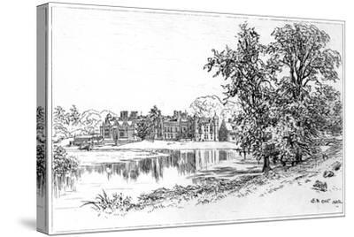 Charlecote Park, Warwickshire, 1885-Edward Hull-Stretched Canvas Print
