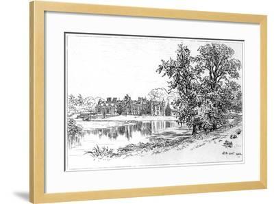 Charlecote Park, Warwickshire, 1885-Edward Hull-Framed Giclee Print