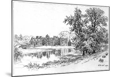 Charlecote Park, Warwickshire, 1885-Edward Hull-Mounted Giclee Print