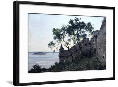 Watchtower, 1880-Emmanuel Lansyer-Framed Giclee Print