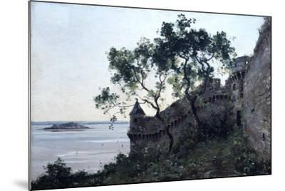 Watchtower, 1880-Emmanuel Lansyer-Mounted Giclee Print