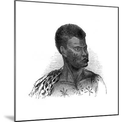 Native of Mozambique, 1848-Ebenezer Landells-Mounted Giclee Print
