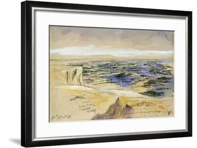 Aboo Seer, 4th Febuary 1867-Edward Lear-Framed Giclee Print