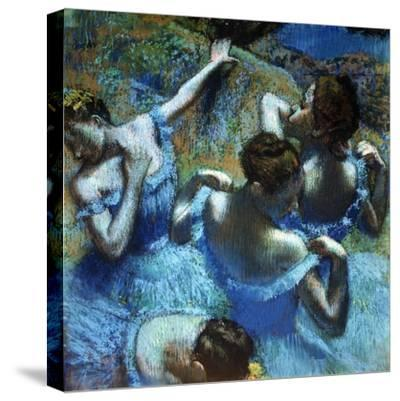 Dancers in Blue, C1898-Edgar Degas-Stretched Canvas Print
