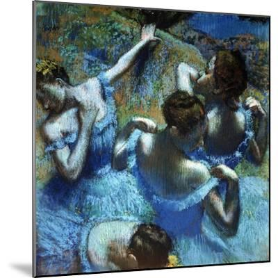 Dancers in Blue, C1898-Edgar Degas-Mounted Giclee Print